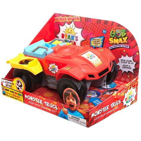 ryans world gob smax monster truck animal toys bm