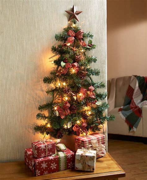 lighted christmas wall trees  home decor shots
