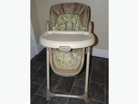 graco mealtime high chair graco meal time monkey business highchair saanich
