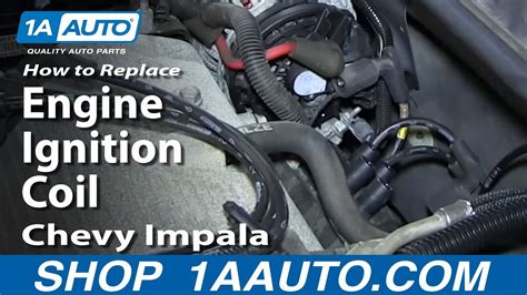 replace ignition coil   chevy impala youtube