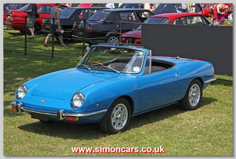 Fiat 850 Sport Spider by Simon Cars Fiat 850 Spider