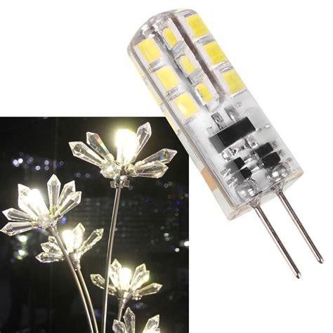 mini g4 base ac 12v 24led 2835 bulb 3w home light