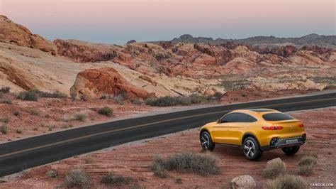 2018 Mercedes Benz Glc Coupe Concept Rear Hd Wallpaper
