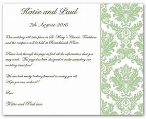 wedding invitation wording information example 1 With wedding invitation inserts examples