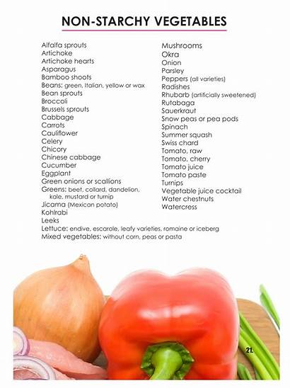 Starchy Vegetables Non Veggies Carb Low Foods