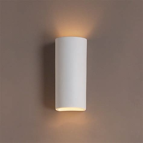 Ceramic Wall Sconces - 5 quot classic cylinder ceramic sconce lights fabby