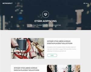 40 Best, personal, website, templates, free Premium - freshDesignweb