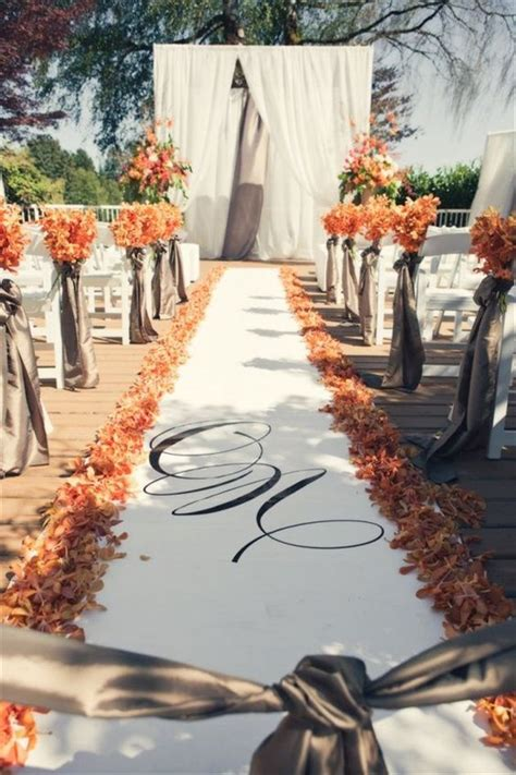 fall wedding decorations ideas  pinterest diy