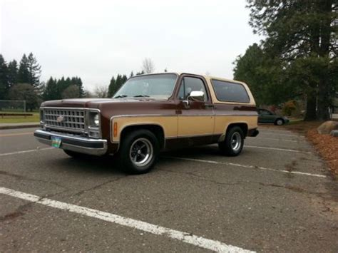 sell   chevy  blazer wd lowered
