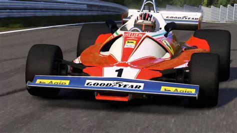 Number 1 on ferrari formula one cars. 1976 Niki Lauda Ferrari F1 Nurburgring 06:54.4 Forza 6 - YouTube
