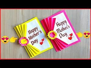 Mother's day card making handmade / Easy and beautiful ...