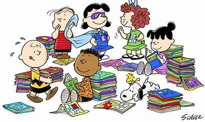 Literature Circles Reading Peanuts Children Readers Class