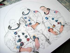 Apollo 11 Drawings - Pics about space