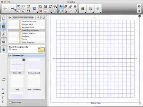 smart notebook   find  graph paper youtube