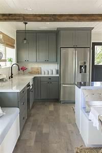 la cuisine grise plutot oui ou plutot non With sol gris quelle couleur pour les murs 3 la cuisine laquee une survivance ou un hit moderne