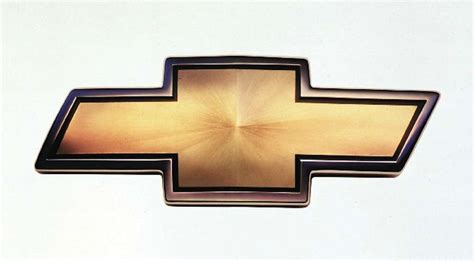 Trace The 100year Evolution Of Chevrolet's 'bowtie' Logo