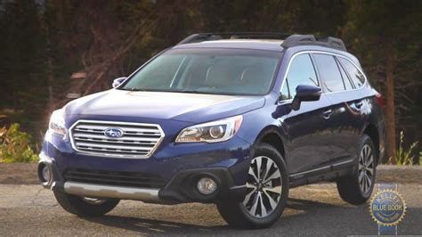 video review  subaru outback kelley blue book