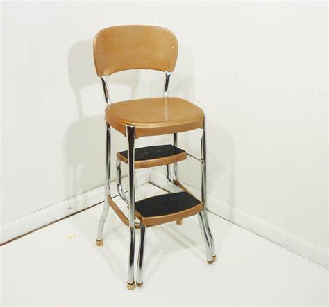 kitchen step stool clean retro 50s vintage step stool kitchen stool chair