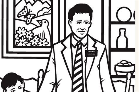 Lds Missionary Coloring Page - Democraciaejustica