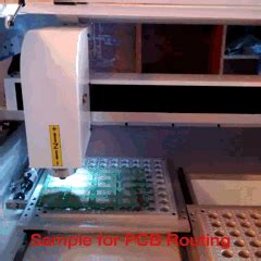 Printed Circuit Board Router Machine Cnc Routing Pcb