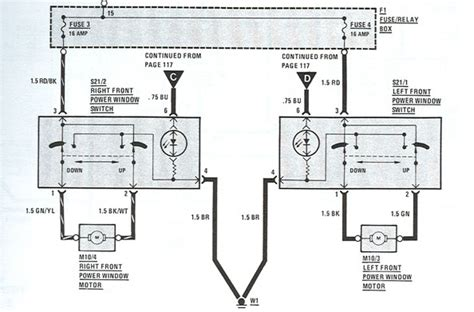 Mercede 220d Wiring Diagram by Electric Windows Quit Just Like That 380sl Peachparts