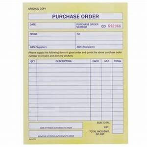 spirax no 501 carbonless purchase order book officeworks With order invoice books online