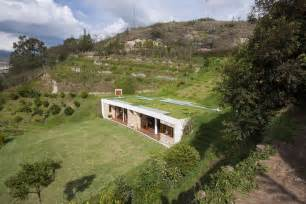 homes built into hillside house built into a hill