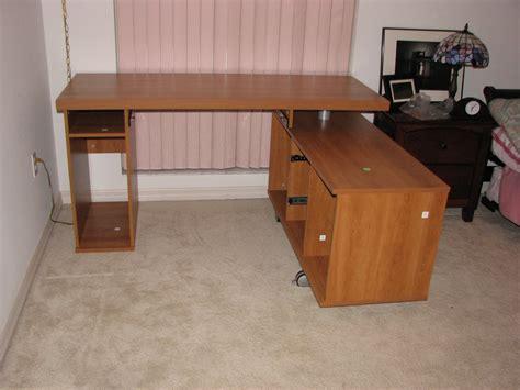 wooden l base parts furniture black grey wooden l shaped desk with steel base
