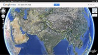 3D Views of World Map Satellite with Countries | World Map ...