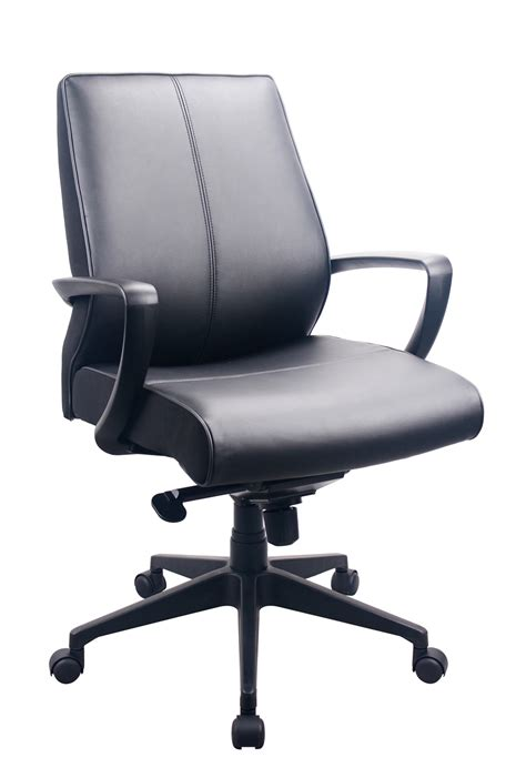 Tempur Pedic Office Chair by Tempur Pedic Tp350 Black Leather Mid Back Managers