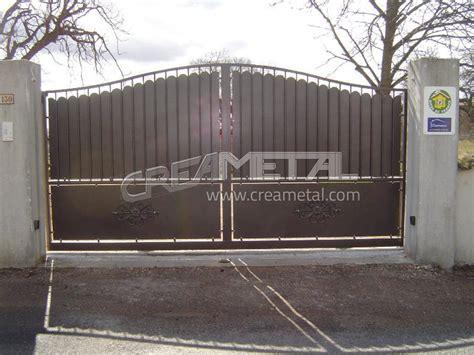 Portail En Fer Fabricant R 233 Novation Fabrication Ou Transformation De Portails En Acier Aluminium Lyon