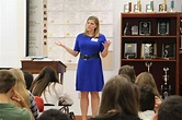 Ashleigh Walters visits Dreyfoos – THE MUSE