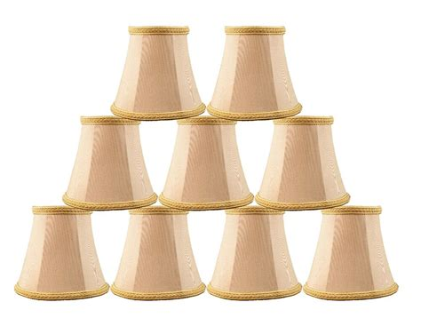 Miniature L Shades For Chandeliers by Urbanest Chandelier Mini L Shades 5 Quot Bell Silk Taupe W