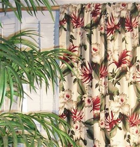 fabric tropical curtains archives the hawaiian home