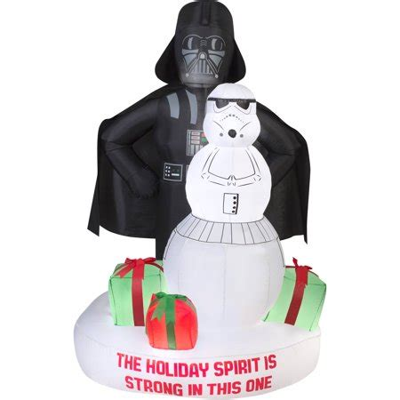 airblown inflatable darth vader  storm trooper