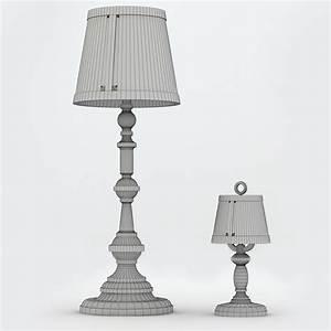 floor lamp moooi 3d model max 3ds fbx cgtradercom With moooi paper floor lamp replica