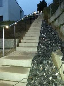 Außentreppen Beleuchtung Led : beispiele f r flexo handl ufe mit led beleuchtung im aussenbereich ~ Sanjose-hotels-ca.com Haus und Dekorationen