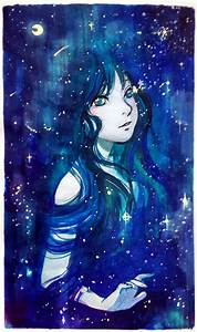 Stars born from her eyes by Qinni on DeviantArt