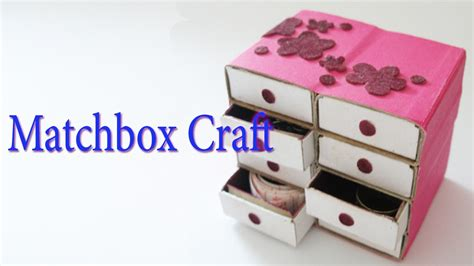 hand  matchbox craft   waste material hand
