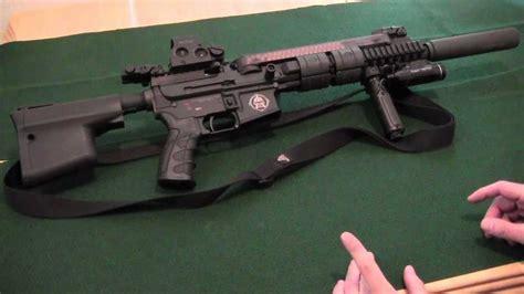 Ar57 With Yhm Phantom 556 Suppressor Review Youtube
