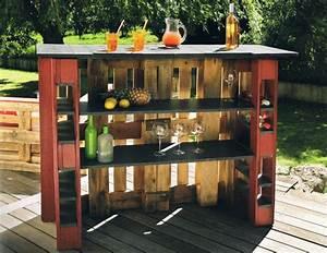 Kleine Bar Für Zuhause : 5 einfache schritte wie sie bartresen aus paletten selber bauen diy garten zenideen ~ Bigdaddyawards.com Haus und Dekorationen