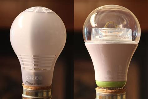 cree led light bulbs battle of the connected led light bulbs cree vs ge link