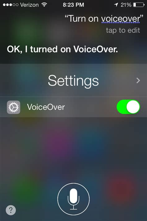 how to turn voice iphone 5 assistive technology new in ios 7 ask siri to turn