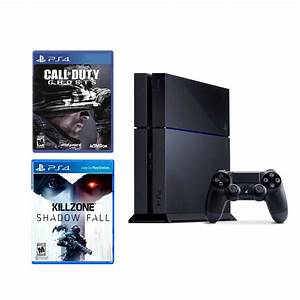 Sony Playstation 4 Call of Duty: Ghosts and Killzone ...