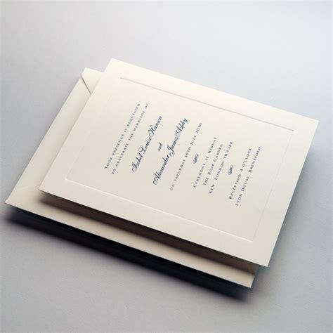 royal wedding invitations wedding stationery