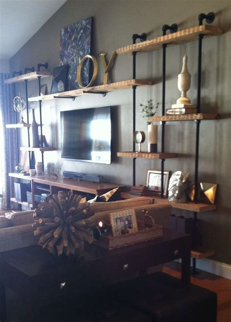 Wall To Wall Shelving by 25 Best Ideas About Tv Wall Shelves On