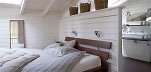 Dressing Derrière Tete De Lit : pour ou contre la salle de bain ouverte sur la chambre ~ Premium-room.com Idées de Décoration