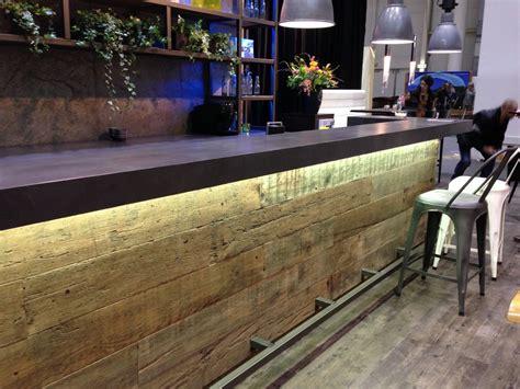 oak wood desk gastronomiemöbel und gastronomieeinrichtung