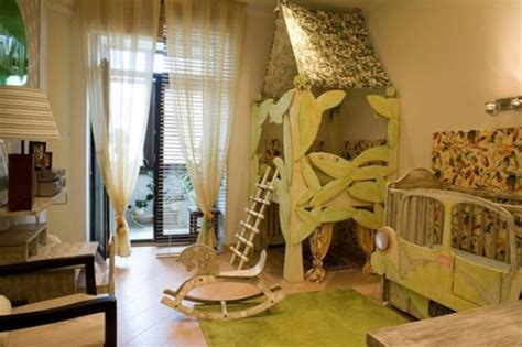 Ideas To Design A Jungle Themed Kids Room