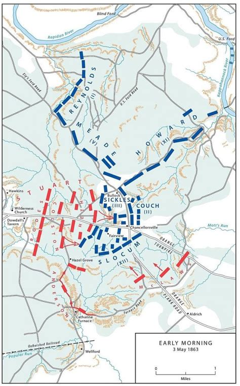 battle  chancellorsville     history